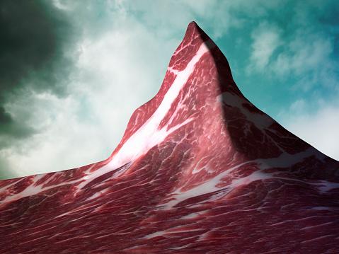 Out Of Context「The Matterhorn Made of Meat (Pork)」:スマホ壁紙(15)