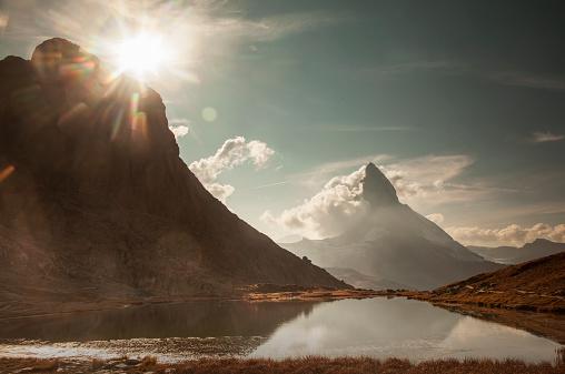 Beauty In Nature「The Matterhorn, view from Riffelsee」:スマホ壁紙(8)