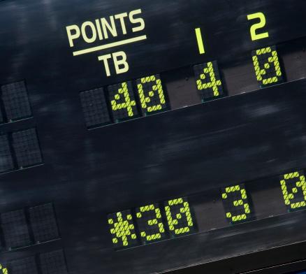 Zero「Tennis scoreboard 30-40 Breakpoint」:スマホ壁紙(17)