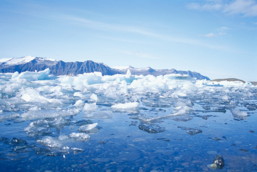 Arctic Ocean「Melting sea ice」:スマホ壁紙(18)