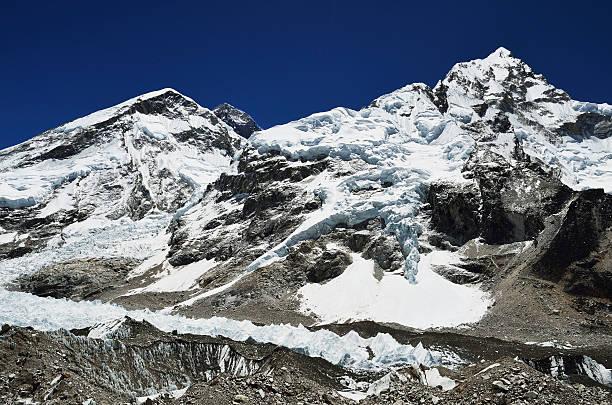 Asia, Nepal, View of Mount Everest and Nuptse:スマホ壁紙(壁紙.com)