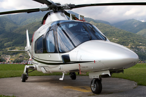 Helicopter「An A109 Power Elite helicopter, Locarno, Switzerland.」:スマホ壁紙(19)