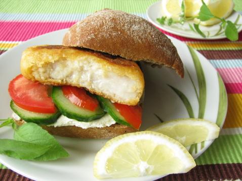 Pollock - Fish「Fish Sandwich」:スマホ壁紙(19)