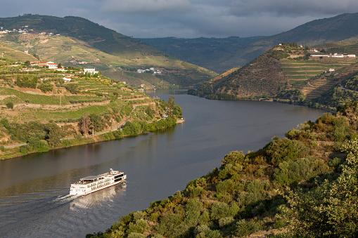 Ship「Cruise through vineyards of the Douro Valley」:スマホ壁紙(1)