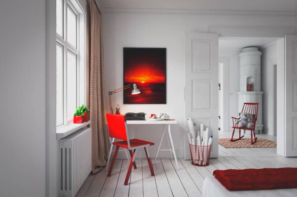 Cozy Scandinavian Interior:スマホ壁紙(壁紙.com)