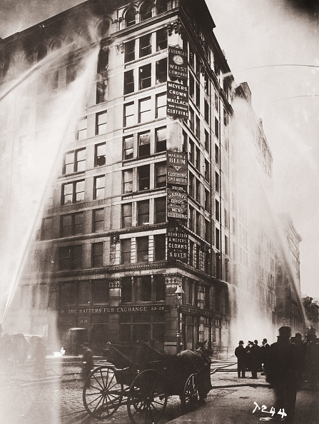 Spray「Triangle Shirtwaist Company Fire」:写真・画像(1)[壁紙.com]