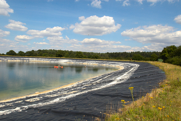 Agricultural Machinery「Water storage reservoir, Suffolk, UK」:写真・画像(12)[壁紙.com]