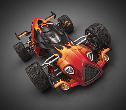 Hot Rod Car「hot racecar」:スマホ壁紙(2)