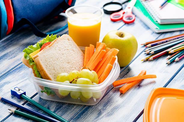 Healthy school lunch box:スマホ壁紙(壁紙.com)