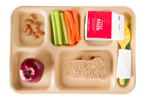 Tray「Healthy School Lunch」:スマホ壁紙(10)