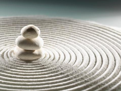 Japanese Rock Garden「stone zen garden」:スマホ壁紙(17)