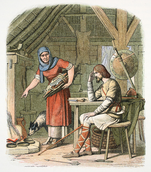 スイーツ「King Alfred In The Neatherd's Cottage C878 (1864)」:写真・画像(8)[壁紙.com]