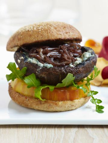 Veggie Burger「Portobello Mushroom Burger」:スマホ壁紙(12)