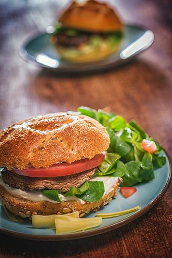 Veggie Burger「Portobello Mushroom Veggie Burger」:スマホ壁紙(15)