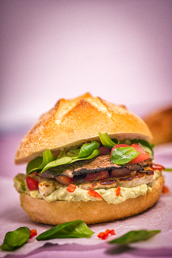 Veggie Burger「Portobello Mushroom Veggie Burger」:スマホ壁紙(18)
