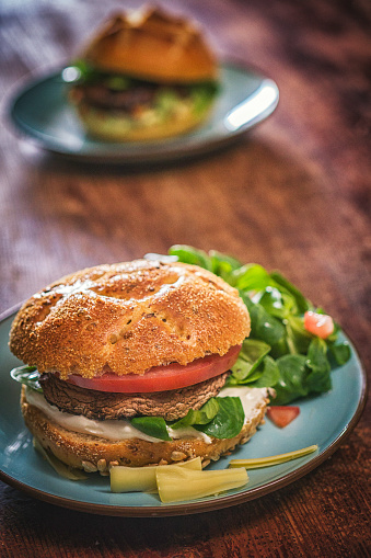 Veggie Burger「Portobello Mushroom Veggie Burger」:スマホ壁紙(19)