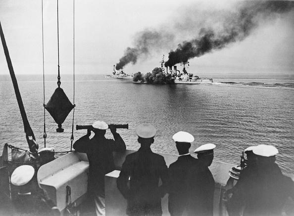 キール「German Battleship On Manoeuvres」:写真・画像(5)[壁紙.com]