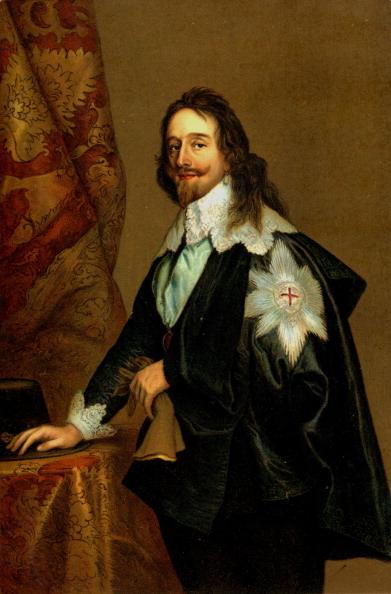 縦位置「Charles I, painting by Van Dyck. King of England,」:写真・画像(12)[壁紙.com]