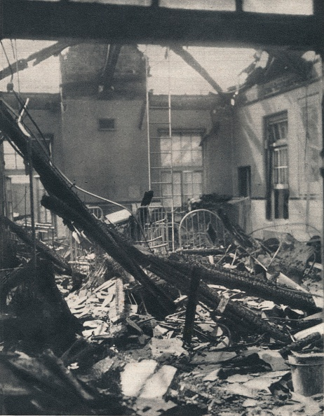 Bomb Damage「Belfast: Childrens Ward. The enemys attack was directed against the whole life of the people, th」:写真・画像(10)[壁紙.com]