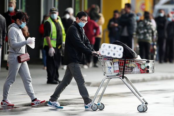 Auckland「New Zealand COVID-19 Restrictions Reintroduced Following New Coronavirus Cases」:写真・画像(6)[壁紙.com]