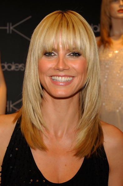 Bangs「Heidi Klum Launches Her Collection With Jordache」:写真・画像(13)[壁紙.com]