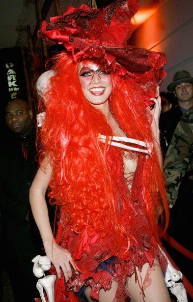 Stage Costume「Heidi Klum's Annual Halloween Party」:写真・画像(2)[壁紙.com]