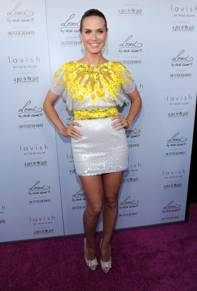 Yellow「Heidi Klum Celebrates Her Summer 2010 Collection: Lavish By Heidi Klum」:写真・画像(11)[壁紙.com]