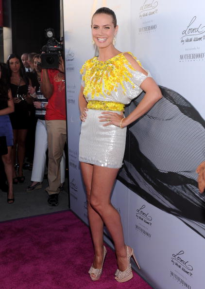 Yellow「Heidi Klum Celebrates Her Summer 2010 Collection: Lavish By Heidi Klum」:写真・画像(12)[壁紙.com]