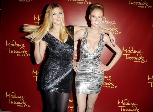 Wax Figure「Heidi Klum Wax Figure Unveiling At Madame Tussauds」:写真・画像(4)[壁紙.com]