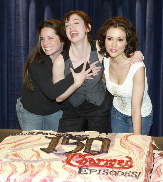 """Sweet Food「The WB's """"Charmed"""" 150th Episode Cake Cutting」:写真・画像(5)[壁紙.com]"""