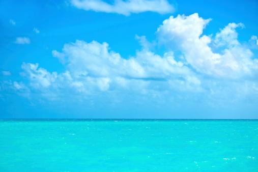 海「カリブ海の海」:スマホ壁紙(5)