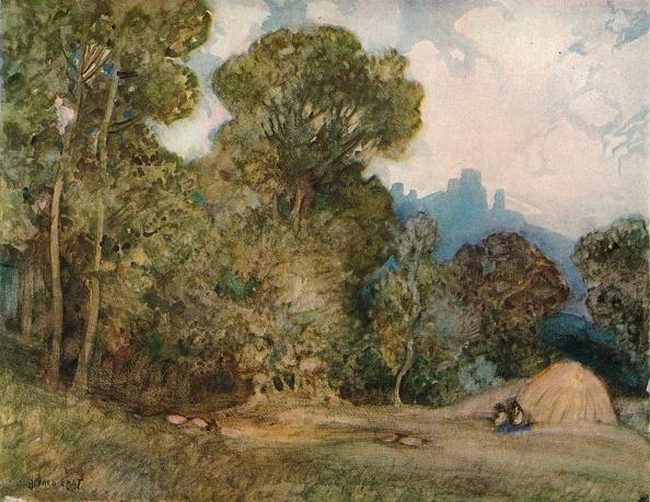 Nature「Chateau Gaillard, c1864-1906, (1906). Artist: Alfred Edward East」:写真・画像(10)[壁紙.com]