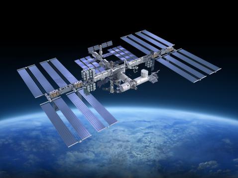 Spacecraft「International Space Station ISS」:スマホ壁紙(17)