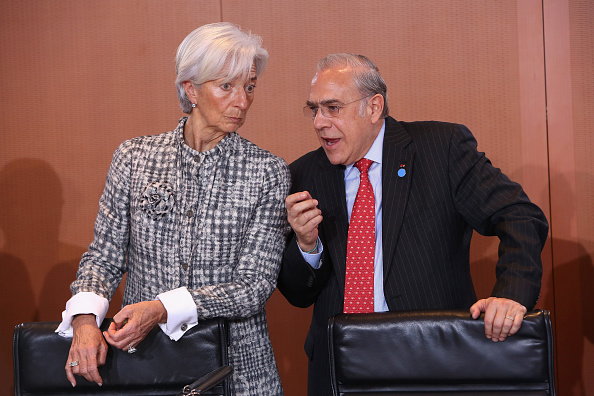 Corporate Business「Merkel Meets With IMF, OECD, ILO and WTO Heads」:写真・画像(19)[壁紙.com]