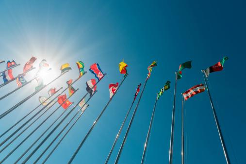 Global Village「International flags」:スマホ壁紙(6)