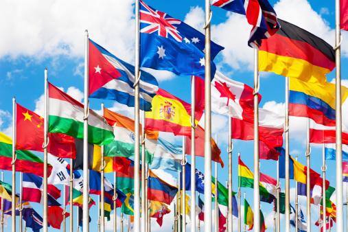 Argentinian Flag「International flags」:スマホ壁紙(17)