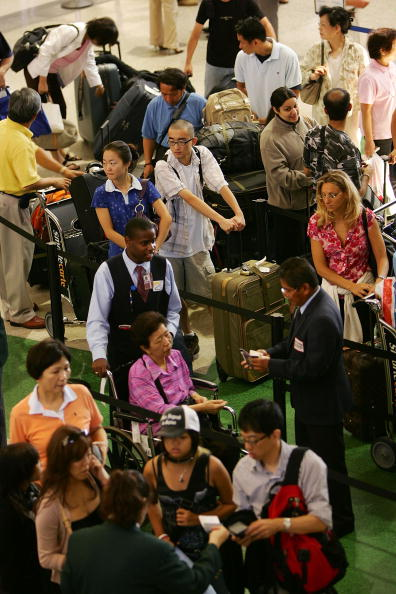 LAX Airport「U.S. Raises Air Security Alert To Red For The First Time」:写真・画像(7)[壁紙.com]