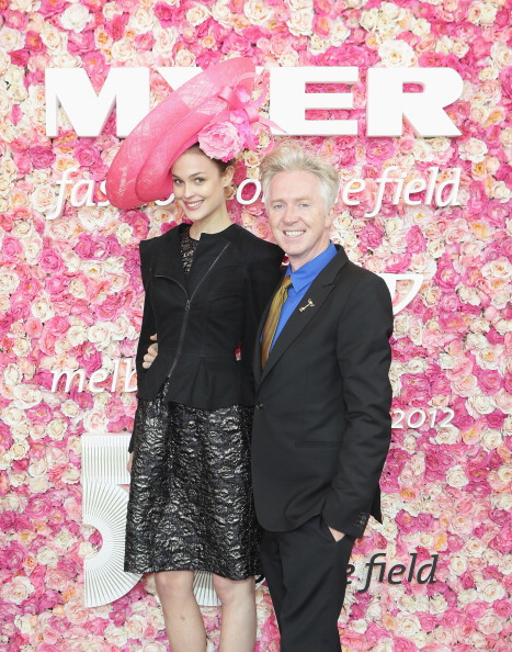 Melbourne Cup Carnival「2012 Melbourne Cup Carnival: Myer Fashions On The Field Enclosure Launch」:写真・画像(16)[壁紙.com]