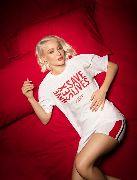Event「Zara Larsson Encourages People to 'Have Sex and Save Lives' as Durex partners with (RED) to Fight AIDS」:写真・画像(17)[壁紙.com]