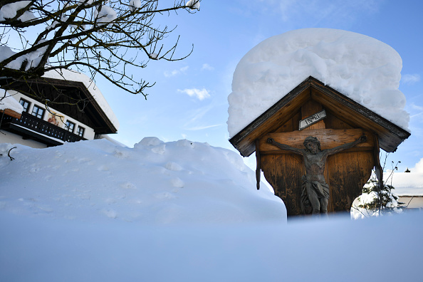 Krün「Austria And Southern Germany Inundated With More Snow」:写真・画像(17)[壁紙.com]