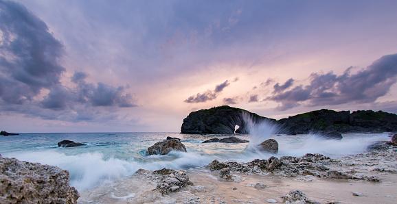 Wide Angle「Majestic seascape at dusk」:スマホ壁紙(7)