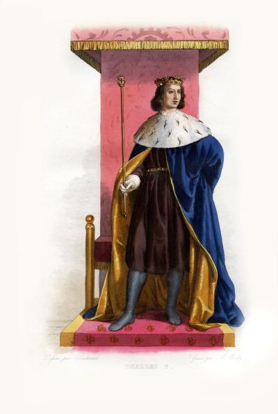 Circa 14th Century「Charles V of France」:写真・画像(1)[壁紙.com]