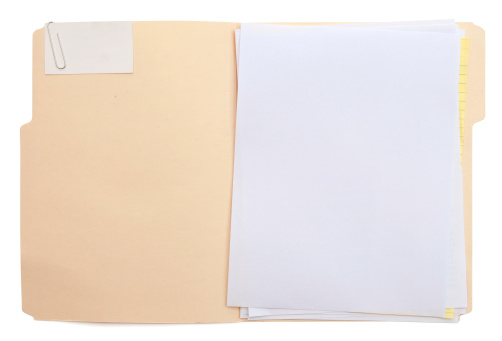 Letter - Document「Folder & Paper (w/path)」:スマホ壁紙(2)