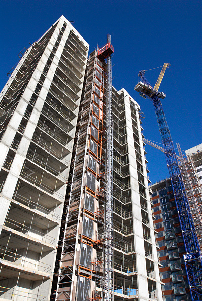 Finance and Economy「Apartment development, East London, UK」:写真・画像(13)[壁紙.com]
