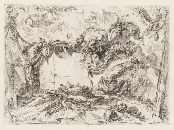 Groteschi: Ruins With Skulls And A Smoking Vase:ニュース(壁紙.com)