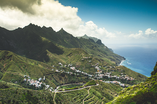 Atlantic Islands「masca village in tenerife」:スマホ壁紙(1)