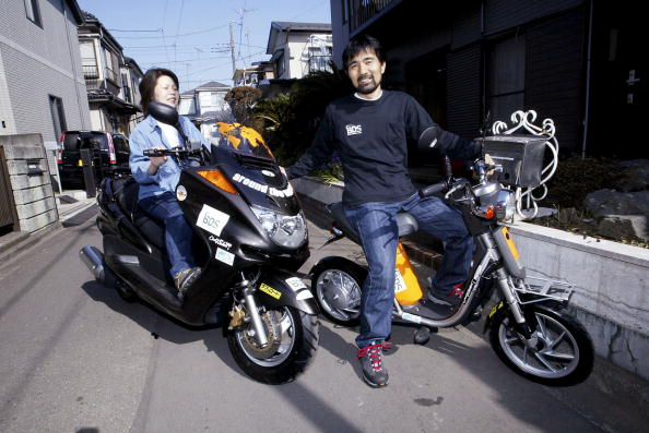 Lithium「Japanese Man Plans World Trip On Zero-Emission Electric Scooter」:写真・画像(11)[壁紙.com]