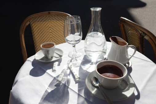 Dining「Outdoor Chocolate And Coffee in Paris」:スマホ壁紙(11)