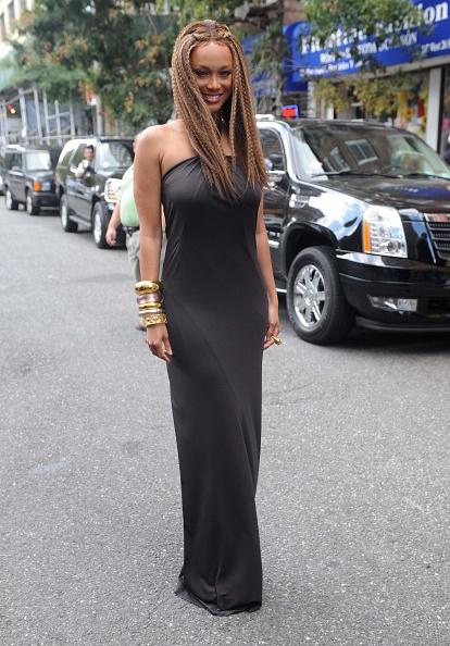 "Crimped Hair「Tyra Banks Celebrates ""Vogue Italia"" On ""The Tyra Banks Show""」:写真・画像(10)[壁紙.com]"
