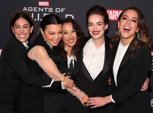 お祝い「100th Episode Celebration Of ABC's 'Marvel's Agents Of S.H.I.E.L.D.' - Arrivals」:写真・画像(3)[壁紙.com]